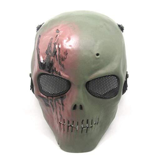 Party Masks - 1 Pc Skeleton Skull Full