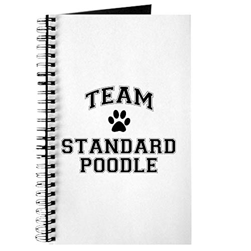 (CafePress Team Standard Poodle Spiral Bound Journal Notebook, Personal Diary, Dot Grid )