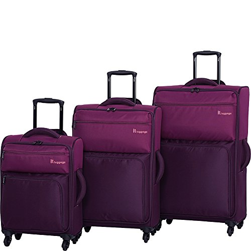 it-luggage-duotone-4-wheel-3-piece-set-dark-purple-potent-purple