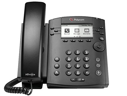 Polycom VVX 311 Corded Business Media Phone System - 6 Line PoE - 2200-48350-025 - Replaces VVX 310