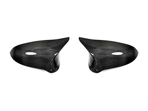 AutoTecknic Replacement Carbon Fiber Mirror Covers - F87 M2 Competition | F80 M3 | F82/ F83 M4