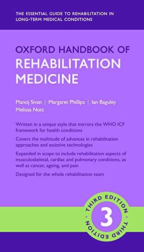 Oxford Handbook Of Rehabilitation Medicine  Oxford Medical Handbooks