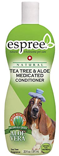 Conditioner Peppermint Dog (Espree Tea Tree and Aloe Medicated Conditioner, 20 Ounce)
