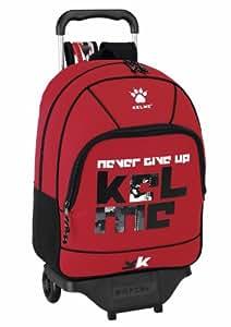 Kelme - Red mochila grande con ruedas (Safta 6 11221 313)