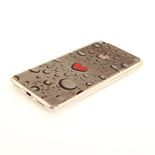 Silicone Résistant Téléphone Xiaomi Peint 2 Transparent Slim Protection Cas Arrière Mi TPU Couverture Antichoc Fit Waterdrop De Motif De Scratch Souple Bord En Cas Hozor Max vfnTFTRq