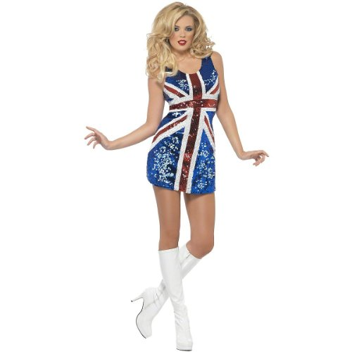 All that Glitters Rule Britannia Adult Costume - Small