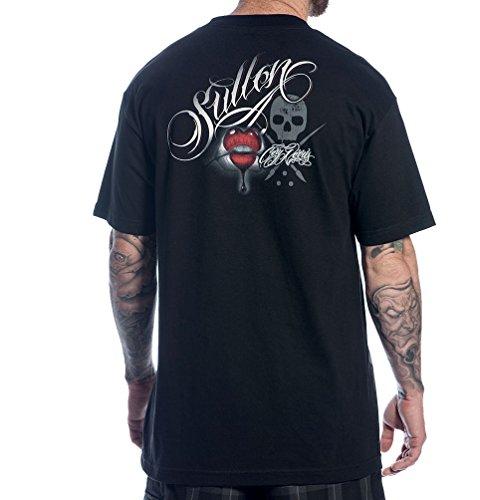 Herren T-Shirt SULLEN - Kiss - Blk