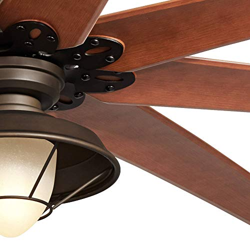72 Quot Predator Bronze Outdoor Ceiling Fan With Light Kit 72 Inch Ceiling Fans