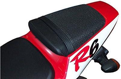 1999-2002 Triboseat Coprisella Passeggero Antiscivolo Nero Compatibile Con Yamaha YZF R6