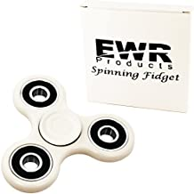 EWR Spinner Fidget Toy (UPGRADED CONCAVE CAPS) EDC ADHD Focus Durable High Speed Si3N4 Hybrid Ceramic Bearing...