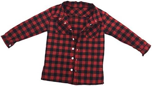 Amazon.es: non-brand 1/6 Cowboy Shirt Vest Toy DIY para 1/6 Muñecas Estatuilla Masculina - Camisa a Cuadros 15cm Largo: Juguetes y juegos