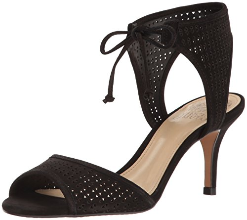 Vince Camuto Kvinders Kanara Kjole Sandal Sort p62mTNJ