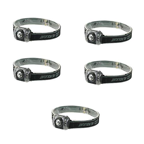 Price comparison product image EVERBRITE 5PACK 3AAA 7 LED Head LAMP