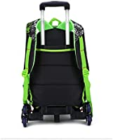 52fbbea5c5d3 Amazon.com: C-Xka Children's Trolley Bag Junior High School Students ...