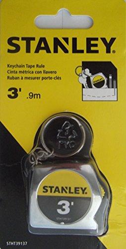 Stanley Keychain Tape Rule, 3-ft.