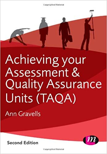 Book Achieving your Assessment and Quality Assurance Units (TAQA) (Further Education and Skills)