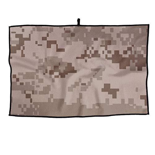 Field Rain Desert Army Camouflage Fashion Casual Portable Golf Towel Sports Towel 38X60cm