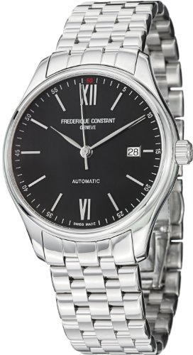 Frederique Constant Men's Classics Index Automatic-self-Wind Watch with Strap, Stainless Steel, 20 (Model: FC-303BN5B6B)