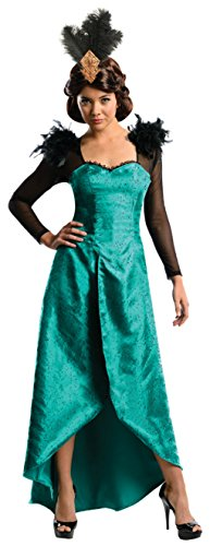 Rubies Womens Evanora The Great And Powerful Oz Emerald Dress Halloween Costume, S -