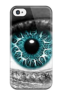 Hot New Azure Eye Case Cover For Iphone 4/4s With Perfect Design