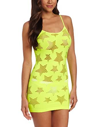 Seven 'til Midnight Women's Star Struck Dress, Yellow, One Size
