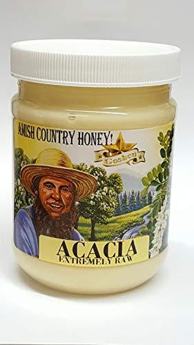 Amish Extremely Raw ACACIA Honey 1Lb