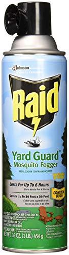 Raid Yard Guard Mosquito Fogger, 16 oz