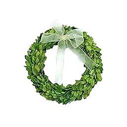 Preserved Boxwood Round Wreath 8\