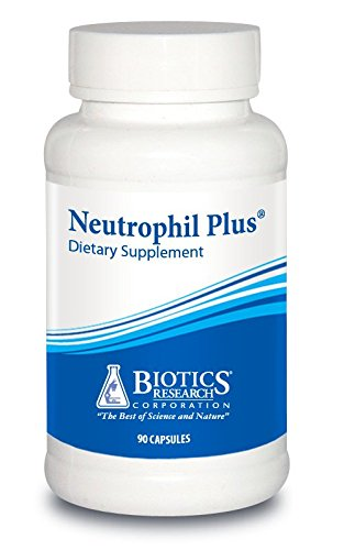 Biotics Research Neutrophil Plus®– Immune Support, Maitake Mushroom, Barberry, Antioxidant Activity, Optimal Immune Function, Upper Respiratory Health. 100 caps