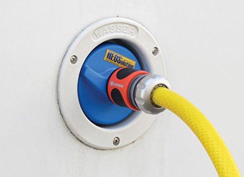 41j8L3LGgfL HEOSwater Wassertankdeckel 5251 Connector universal mit Gardena-Anschluss