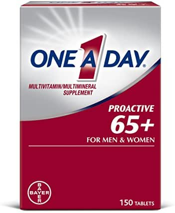 Multivitamins: One A Day Proactive 65+