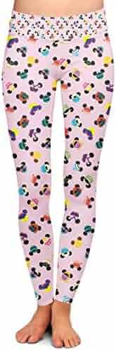 db52fc342a3b3 Disney Princess Mouse Ears Yoga Leggings - Full Length, Low Waist