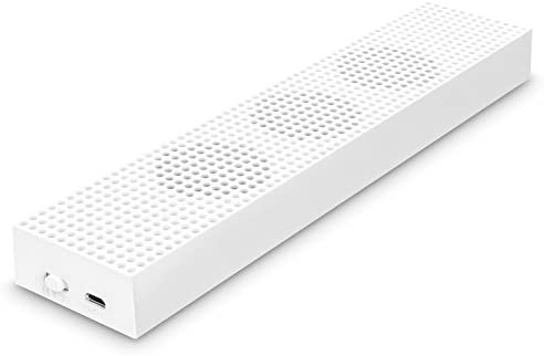 MoKo Xbox One S Ventilador - Incorporado 3 Speed Cooling Fans con 2 USB Puertos de Carga & Sincronización de Datos/L & H Velocidad para Xbox One S Gaming Consola, Blanco: Amazon.es: