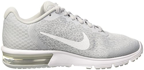 Platine M Gris Donna Nike Running Air Platine Wmns 2 Sequent Max Grigio Scarpe Loup Pur 6RAzqF