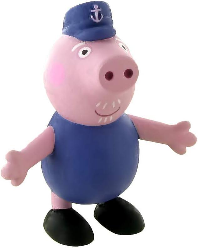 Comansi Figura Peppa Pig Abuelo 90151: Amazon.es: Juguetes y juegos