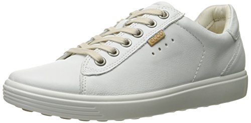 10 Sneaker 10 Women 5 M US EU White ECCO Women Fashion 41 Soft qIRpwz