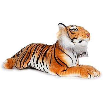 Raj The Sumatran Tiger | 19 Inch Large Sumatran Tiger Stuffed Animal Plush  Cat | By Tiger Tale Toys