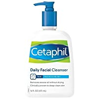Cetaphil Daily Facial Cleanser, 16 oz