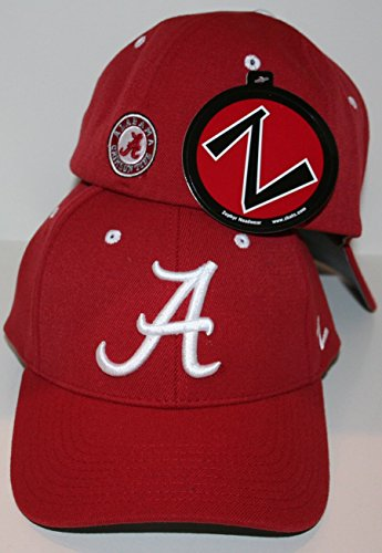 ZHATS University of Alabama Crimson Tide Red DH Flex Fitted Adult Men's Hat/Cap Size XL