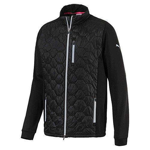 Puma Golf Men's 2018 Dassler PWR Warm Jacket, X-Large, Puma Black (Dassler Puma)