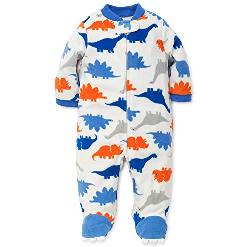 Little Me Baby Boys' Blanket Sleepers, Dino Print, 18 Months