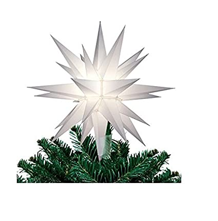 Amazon Elf Logic 12 Moravian Star Christmas Tree Topper