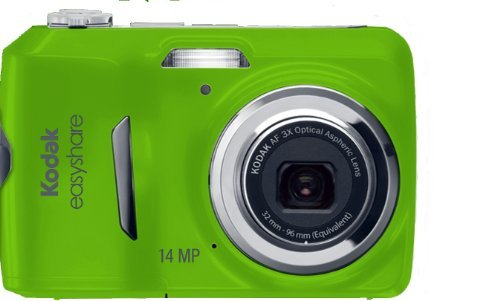Kodak EasyShare C1530 14 MP Digital Camera with 3x Optical Zoom and 3.0-Inch LCD Green