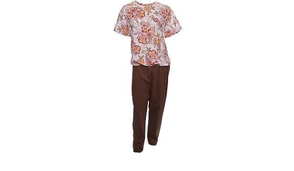 5ceadafbea3c Amazon.com  Women s Assorted Print-top Anti-strip Jumpsuit-style 4 ...