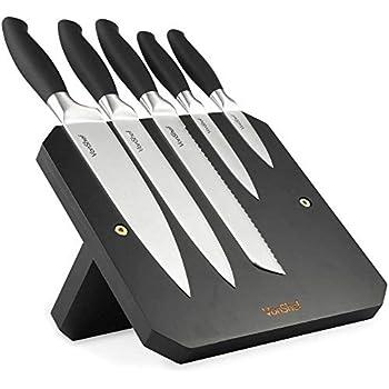 Amazon Com Vonshef 5 Piece Multi Colored Kitchen Knife