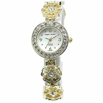 d4cc78fd89 Amazon | アンジェロジュリエッティー腕時計 [ AngeloJurietti時計 ]( Angelo Jurietti 腕時計 アンジェロ  ジュリエッティー 時計 ) コッコ cocco レディース腕時計/ ...