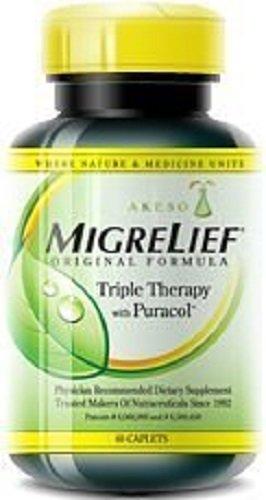(MigreLief Original Formula for Migraine, 60 Caplets (Pack of 3))