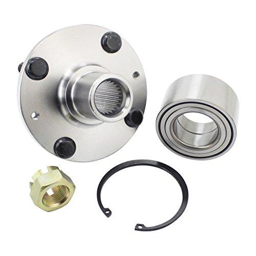 WJB WA930592K Front Wheel Hub Bearing Assembly (Cross Reference: Timken HA590504/SKF BR930592K) (Cost Replacement Bearing Wheel)