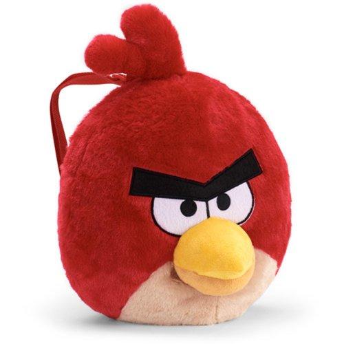 Angry Birds - Mochila de peluche, color rojo: Amazon.es: Juguetes y juegos