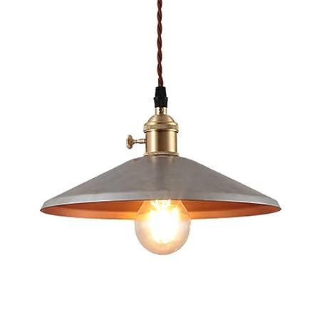 Amazon.com: Lámpara de techo rústica, barra de fijación ...